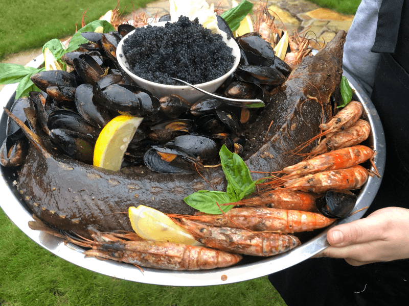 Ассорти морепродуктов