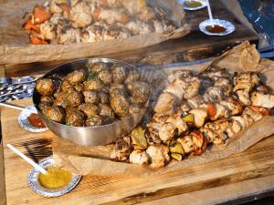 Шашлык из куриного филе с болгарским перцем