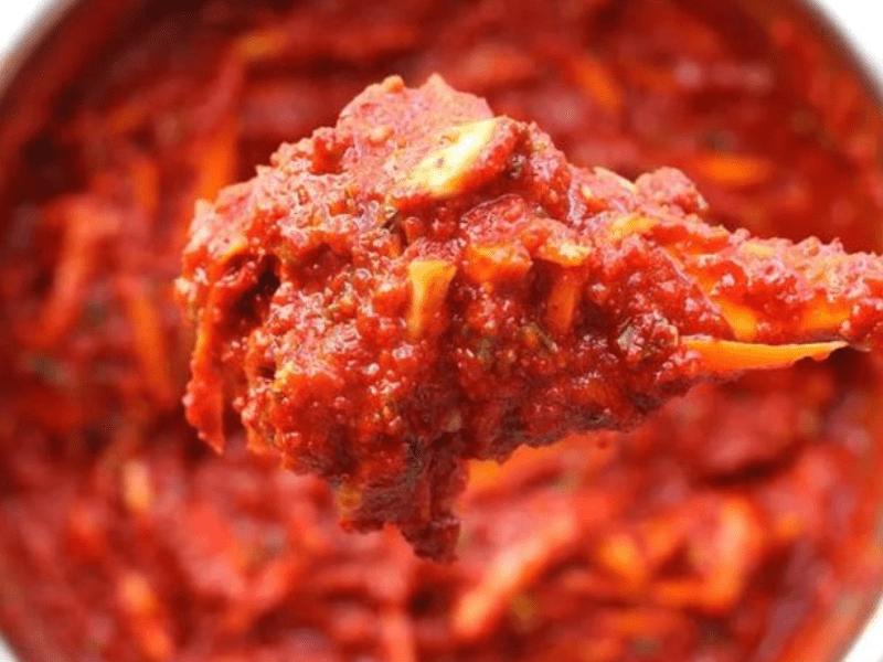 Кимчи острый соус паста