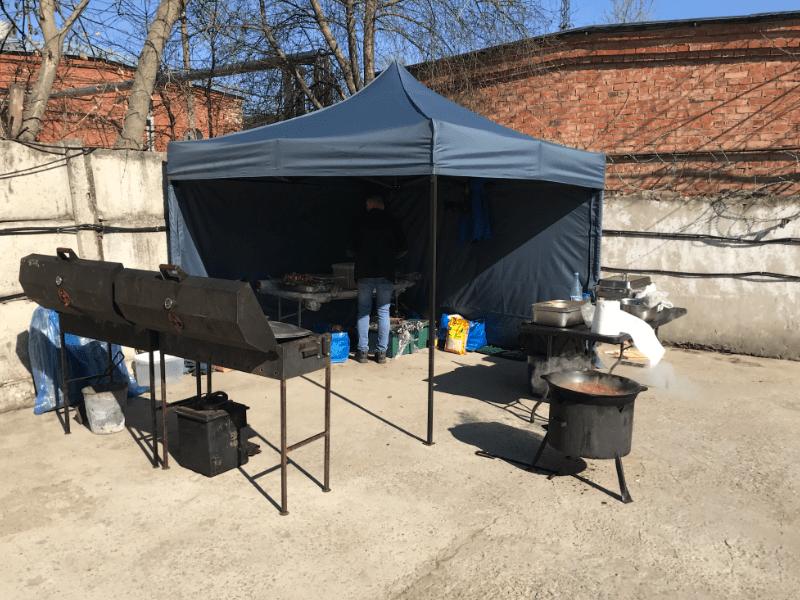 Организация выездного барбекю